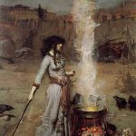 John William Waterhouse -The Magic Circle 1886